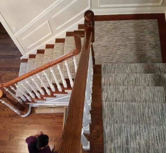 Carpet Runners On Wood Stairs